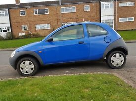FORD KA 1.3L 2003, MOT TILL MARCH 2018 LADY OWNER LOW MILEAGE 69000