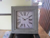 Charlton wall clock (oak furniture land) BNIB selling for half price
