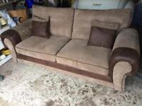 Sofa settee 3 seater