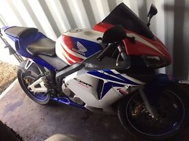 2004 Honda CBR600RR with only 16500 miles