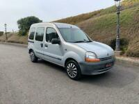 2001 RENAULT KANGOO 1.4RN FULL YEARS MOT MOBILITY VAN WHEELCHAIR AXCESS