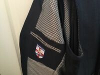 Men's immaculate Lambretta 3 Piece Suit. Dark blue with matching waistcoat. Worn once.