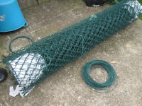 ChainLink Wire Mesh Fencing 1800mm x 9 metres Green