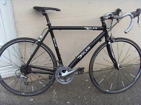 DOLAN PREFISSIO 54cm road bike alu frame carbon forks Tiagra set up,new parts