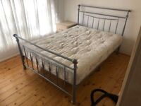 Double Bed Frame &Mattress