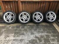 """17"""" Mercedes AMG Alloys"""