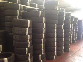 195/65/15 branded part worn tyres