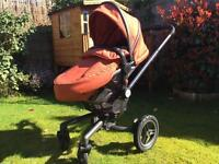 Silver cross surf 2 pram All Terrain limited edition with all wheel options.