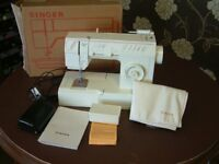 SINGER MELODIE 20 FREE ARM ZIGZAG AND STRAIGHT STITCH SEWING MACHINE
