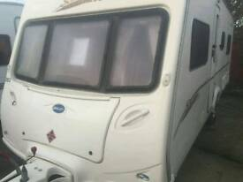 Bailey senator indiana fixed bed 2007 touring caravan