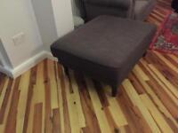 Large footstool/pouffe