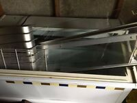 Ice cream freezer with trays used