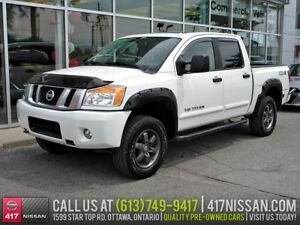 2014 Nissan Titan PRO-4X | Navi, Sunroof, Leather Htd Seats