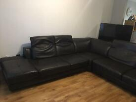 12 seater leather couch for sale