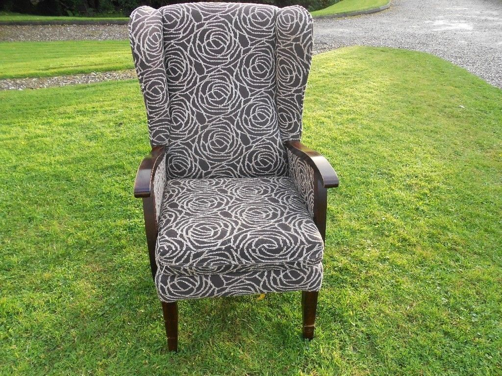 Nice Wing Back Armchair