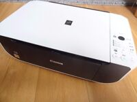 Canon PIXMA MP190 All-in-One Inkjet Printer/Scanner with New Black Ink Catridge