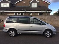 Ford Galaxy 2.3 petrol manual 7 seater with MOT 10/2017 £600