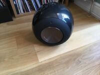 BOWERS AND WILKINS B&W PV1 SUBWOOFER - BLACK -BOXED INCREDIBLE CONDITION COLLECTION ONLY