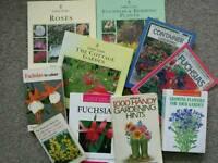 10 gardening books for sale at £1 each