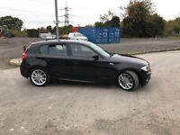 BMW 118D MSPORT 5DOOR BLACK FULL SERVICE