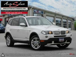 2010 BMW X3 xDrive30i AWD ONLY 182K! **PANORAMIC SUNROOF** PR...