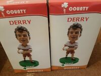 2 X Derry Gaa Bobbleheads
