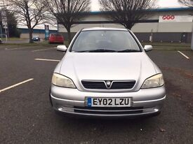VAUXHALL ASTRA 2002 AUTOMATIC FULL SERVICE HISTORY GOOD CONDITION