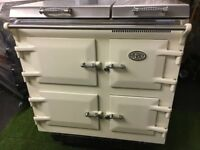 Stunning Everhot 100 Range cooker Oven Cream and chrome ever hot appliance
