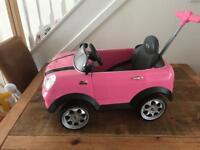 Child's push along car
