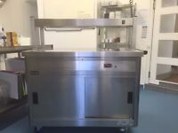 Lincat Panther 670 Series 1200mm heated cupboard and gantry - only three months old