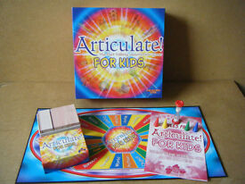 """ARTICULATE FOR KIDS"" By Drumond Park Games 2002. Complete."