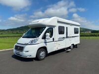 2011 BESSACARR E450 4 BERTH FIXED BED MOTORHOME WITH ONLY 19K MILES ANDERSON MOTORHOME SALES