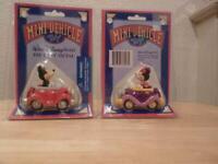 Rare vintage Mickey & Minnie mini cars