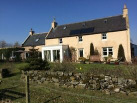 Four Bedroom executive farmhouse in large gardens with orchard