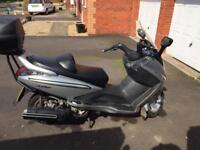 Sym voyager 250cc 06