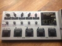 KORG TONEWORKS AX1500G GUITAR PEDAL BOARD + POWER SUPPLY. EXELLENT WORKING ORDER.