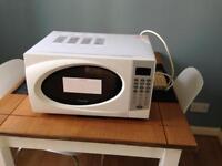 Cookworks 800w microwave