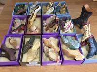 Collectible the right shoe ornaments