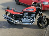 Harley Davidson XR1200 Orange