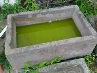Natural Stone Trough Good Condition Can Deliver or Collection