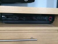 LG cinema surround sound and blu ray player