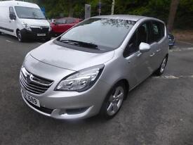 Vauxhall Meriva TECH LINE (silver) 2014-06-30