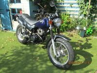 yamaha tw 125 good all round bike, only 9132 km