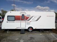 2015 Bailey Unicorn Vigo 4 birth fixed bed
