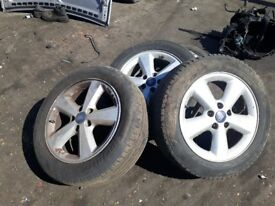 4x ford focus alloy wheel 16""