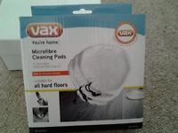 Vax steam mop microfibre cleaning pads