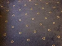Blue Patterned High Quality Carpet