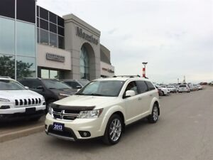 2013 Dodge Journey R/T, AWD, ONE OWNER, Clean Carproof