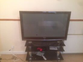 "Samsung 50"" Plasma TV PS-50C96HD including stand"
