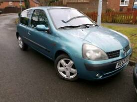 2002 Renault Clio Low Miles Long Mot